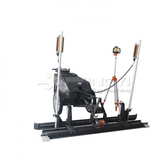 laser screed machine